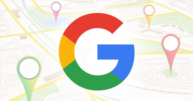 Big G on a map. Google My Business and Google Maps are hand in hand for any business.